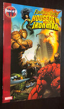 HOUSE OF M -- Fantastic Four / Iron Man TPB -- OOP