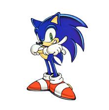 Sonic The HedgeHog #8 T-shirt Iron on transfer 5x7