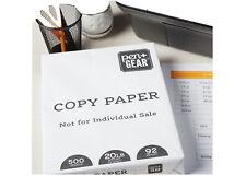 printer paper 500 Copy Paper White, 8.5 x 11 in, 92Bright, 20lb, 500 Sheet