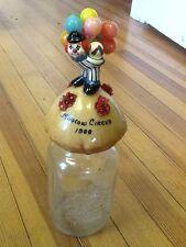Vintage Moscow Circus/ Bernardin Mason Jar, Rose Original - 1988- USA