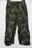 KIDS BOYS WATERPROOF CAMO OVER TROUSER  3 TO 13 Years 100% PVC  POUCH CAMOFLAGUE