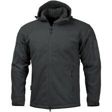 Pentagon Hercules Fleece Jacket Hooded 2.0 Tactische Warm Heren Politie Jas Zwar