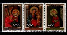 SELLOS NAVIDAD SAN MARINO 1987 1171/73 BEATO ANGELICO 3v.