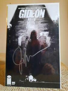 Gideon Falls #1C   SS Jeff Lemire  Image Comics NM UNREAD