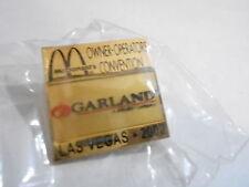 NOS McDonalds Advertising Enamel Pin #35 LAS VEGAS - GARLAND