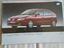 Renault Megane 5 door Hatchback brochure Apr 1997