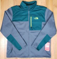 Mens The North Face Apex Risor Jacket Grey/Teal Hiking Brand Size XL New w/ Tags
