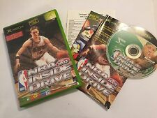 ORIGINAL XBOX BASKETBALL GAME NBA 2003 INSIDE DRIVE +BOX NSTRUCTION COMPLETE PAL