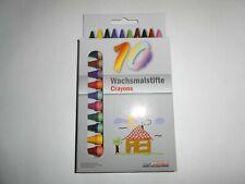18x Kinder Kinder Zeichnung Kunstfarben Coloring School Rotating Crayons