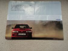 Nissan Sunny GTI-R - Advertisement  - 1992