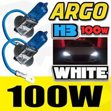 H3 XENON WHITE 100W DIPPED BEAM HEADLIGHT BULBS BEAM APRILIA SR 125 (PX)