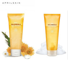 Aprilskin April Skin Real Calendula Peel Off Pack Mask & Foam Cleanser Face Wash