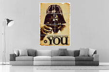 Dark Vador Your Empire Needs You Wall Art poster format A0 Large print