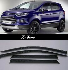 For Ford EcoSport 2014-2019 Side Window Visors Sun Rain Guard Vent Deflectors