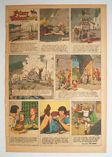 ★ Prinz Eisenherz Full Comic Sunday 8. Februar 1953 Hal Foster Prince Valiant
