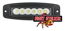 """2"""" x 6"""" Rectangle 18 Watt Night Stalker LED Flush Mount Aux/Reverse Lights"""