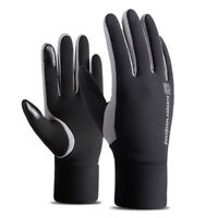 Men's Winter Warm Waterproof Windproof Snow Snowboard Ski Sports Elastic Gloves