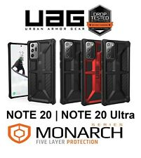 UAG Monarch Case Samsung Galaxy Note 20 / 20 Ultra Ragged Cover Leather Carbon