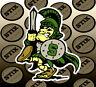 Michigan State Spartans Mascot Logo NCAA Vinyl Sticker Car Window Bumper Decal