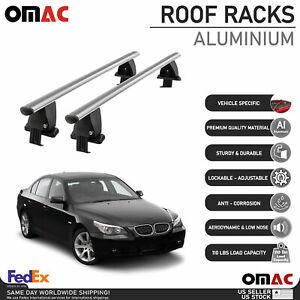 Smooth Top Roof Rack Cross Bar Luggage Carrier For BMW 5 Series Sedan 2004-2010