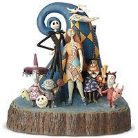 Jim Shore Disney Traditions Nightmare Before Christmas Jack & Sally Valentine