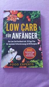 low carb kochbuch für Anfänger