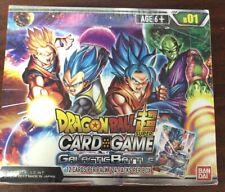 Tarjeta TCG BANDAI Dragon Ball Super Juego De Batalla Galáctica Booster Box B01 Sellado