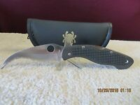 RARE Vintage Spyderco Civilian knife DISCONTINUED