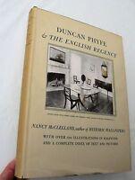 1939 Duncan Phyfe & The English Regency, Nancy McClelland, 1st HBw/dj LIM/SIGNED