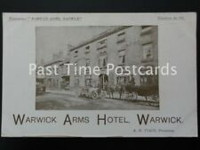 WARWICK Warwick Arms Hotel by A.H. TYACK Proprietor - PROMOTIONAL PC