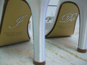 Clean Heels I Do Stickers - diamante, bridal shoes - free postage