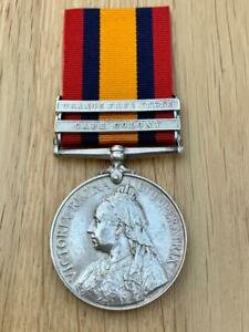 2 Bar QSA Queens South Africa Medal: 2802 Pte G.T.GORTON 2nd Wiltshire Regiment