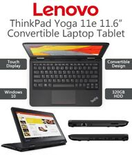 "Lenovo Thinkpad Yoga 11E 11.6"" Touchscreen 2-in-1 Laptop 4GB 320GB Windows 10 PC"