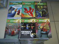 Lego Ninjago Masters of Spinjitzu tres beaux lot de 6 bd du tome 1 au tome 6