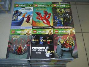 Lego Ninjago Masters of Spinjitzu tres beaux lot de 6 bd du tome 1 au tome 6 ..