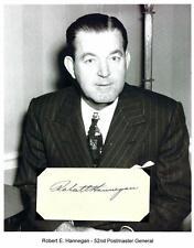 Robert E Hannegan  Autograph Postmaster General St. Louis Cardinals MLB Baseball