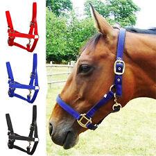 Horse Halter Classic PVC with Soft Padding~Mini & Shetland Weave horseshoe