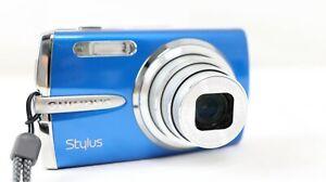olympus stylus camera  1020 ~  10.1Mp 7x Zoom ~ Hyper Crystal LCD ~ Blue ~