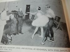More details for dance index 1944 ballet anna pavlova russian prima ballerina 1st edition booklet