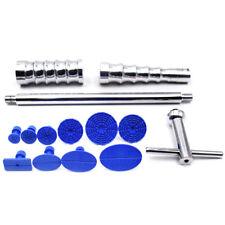 Car Body Paintless Dent Repair Tool Kit Puller Lifter T-Bar & 10 Tabs Well Made