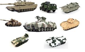 Die Cast Panzer Tank Fertigmodelle Tank auf Karton 1:72 NEU