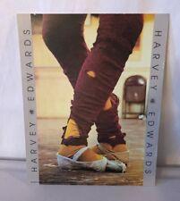 1981 Harvey Edwards Leg Warmers Print/litho By Impress Graphics 10x8