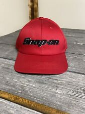 New Red Snap On Snap Back Trucker Hat