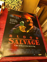 Blood Salvage Movie Poster One Sheet Rare Not Folded 27x40