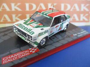 Die cast 1/43 Modellino Auto Fiat 131 Abarth Alitalia Rally 1000 Laghi 1979 Alen