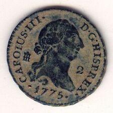Cincin19,Muy Bonito 2 Mrvds CARLOS III Segovia 1775