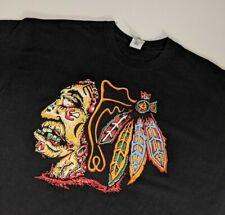 Chicago Blackhawks Zombie Shirt Men's Xl Extra Large