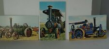 Postcards Traction Engines J Salmon x 5 all in mint condition