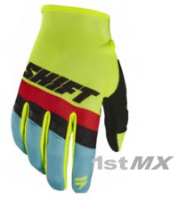 Shift WHIT3 Label Air Motocross MX Off Road Race Gloves Yellow Adults XXLarge