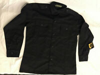NWT's ROTHCO ULTRA FORCE BDU COLOR BLACK MILITARY STYLE JACKET LARGE SHORT